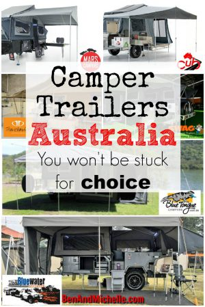 Camper Trailer Brands - if you;re in the market for a new camper trailer here in Australia... you won't be stuck for choices! There are heaps of top quality brands here, with a wide range of options and prices.