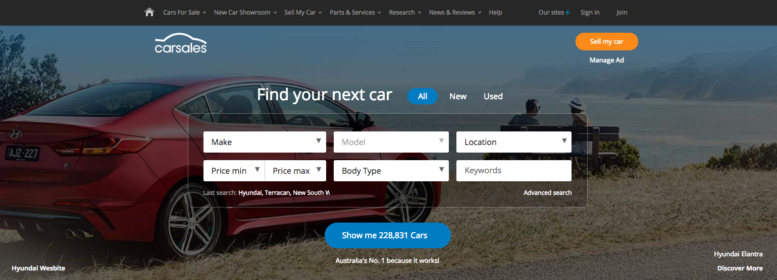 Buying a 4WD from outside Australia - start with www.carsales.com.au