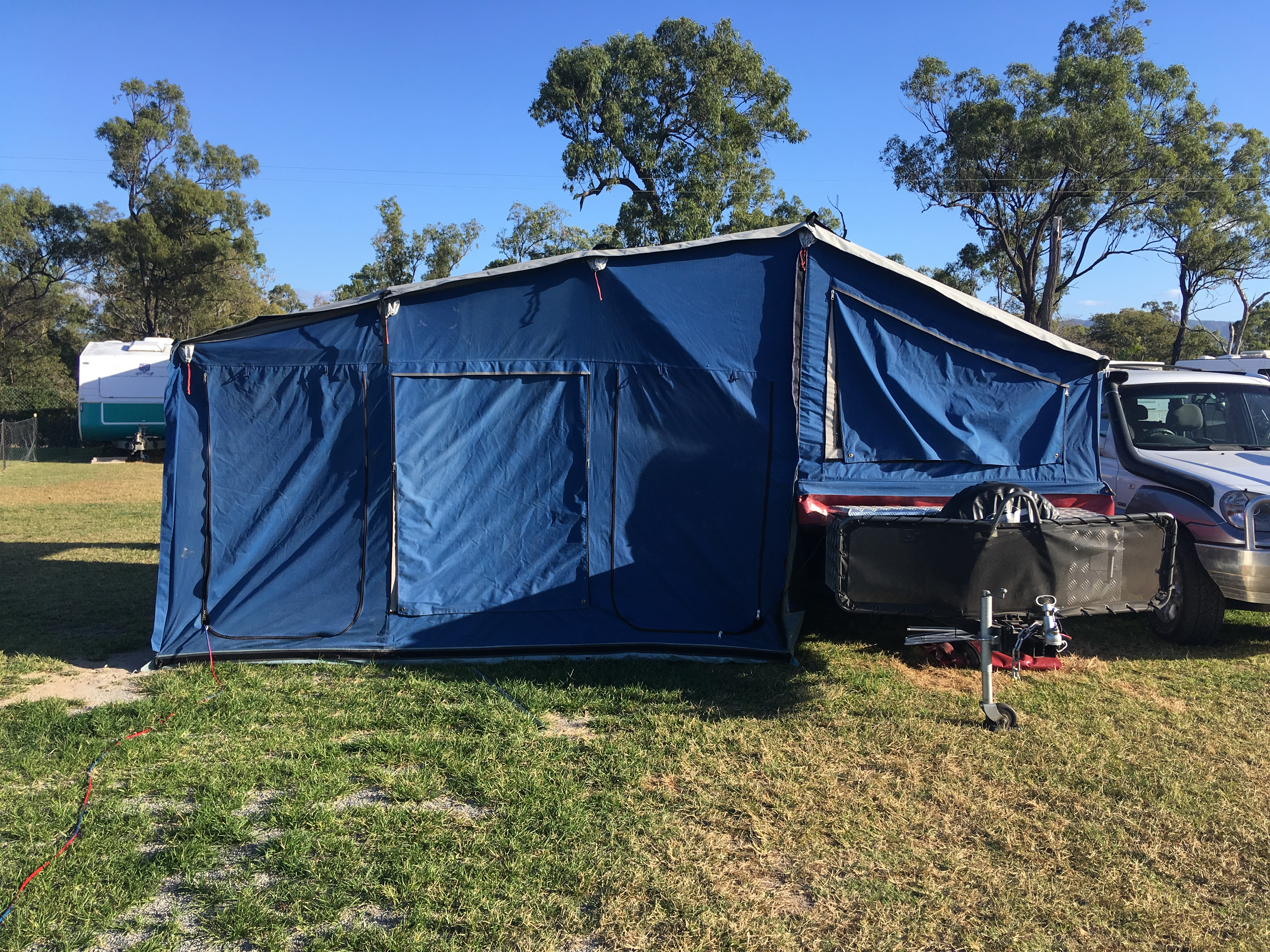 Ben & Michelle - Road Trip Around Australia - Is the Camper Trailer our Ideal Set-Up?