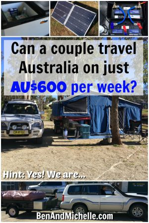 Ben & Michelle - Road Trip Around Australia - An Update on Money - one of the main reasons we are running this blog is that we want it to be useful and helpful to people, and that's the reason why we share our budget, savings and spending so openly. It's so hard to budget when you're having to guess at the costs of things.