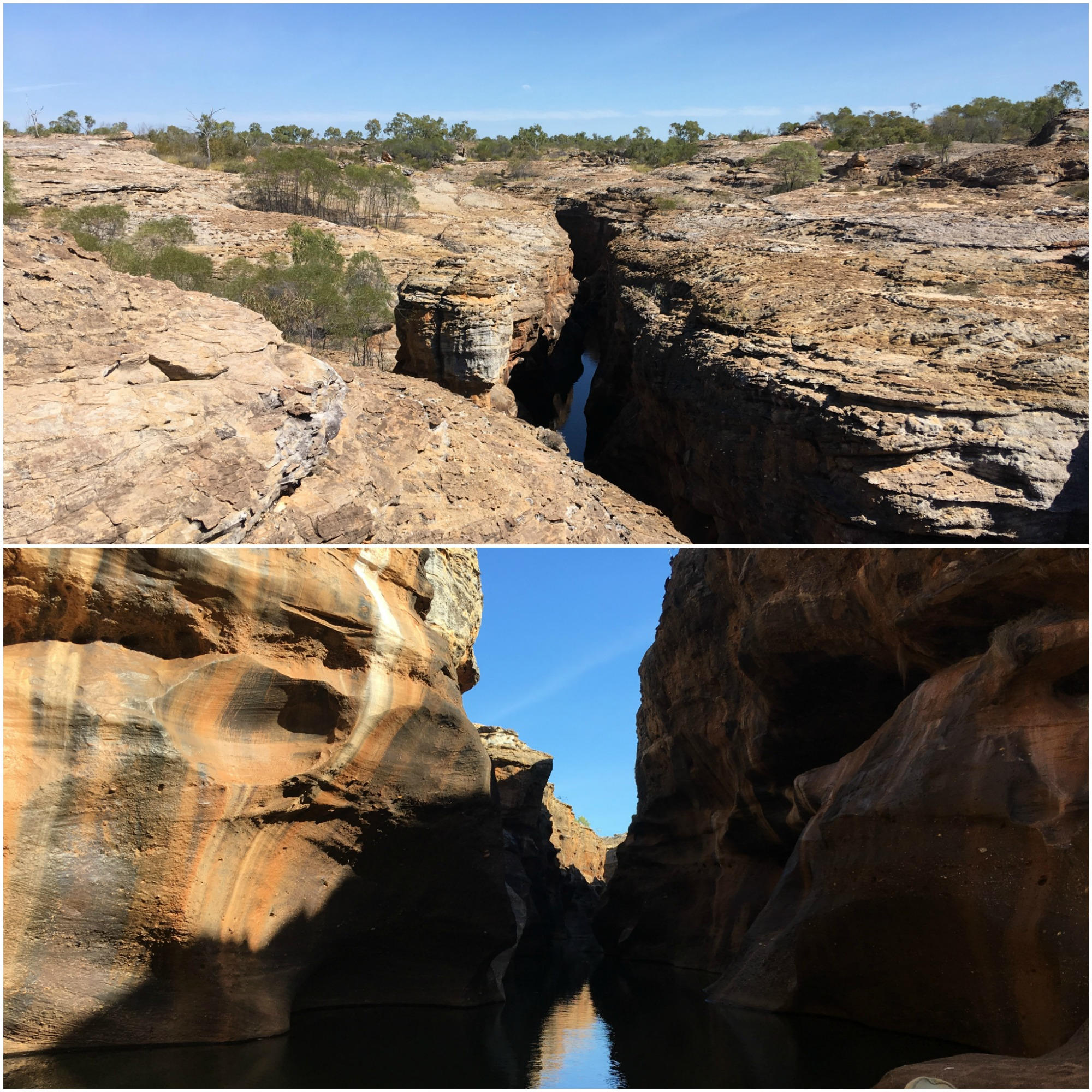 Ben & Michelle - Road Trip Around Australia - Undara Lava Tubes Cobbold Gorge - We're seeing more of the stunning Australian landscape, we got to explore the Undara Lava Tubes and took a tour through the Cobbold Gorge.