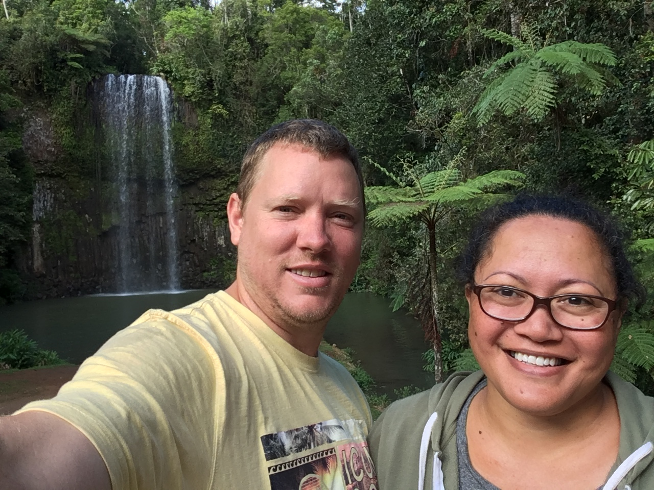 Ravenshoe Railway Caravan Park - we stayed at the Ravenshoe Railway Caravan Park for nine days and the did the waterfall circuit (driving) while we were there.