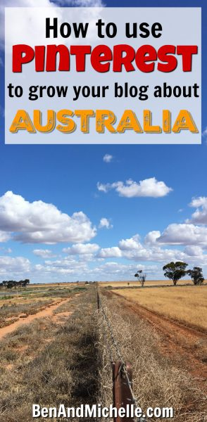 Whether your blog is a brand new baby or a wise old man, Pinterest is the perfect tool for driving traffic to your blog. If you have a blog about travelling Australia by road, like we do, then I know you're going to get a lots of value out of this post. #pinterestforyourtravelblog