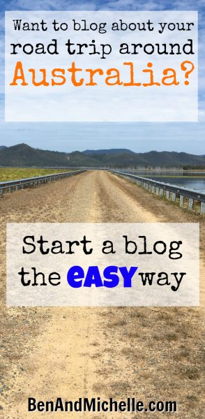 Ben And Michelle | Start Your Own Blog - Step One is to sign up for a free account.