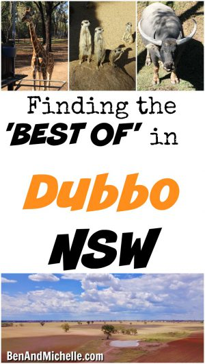 If you're looking for the best things to do while visiting Dubbo NSW you've gotta visit these four places for a taste of the 'Best'.