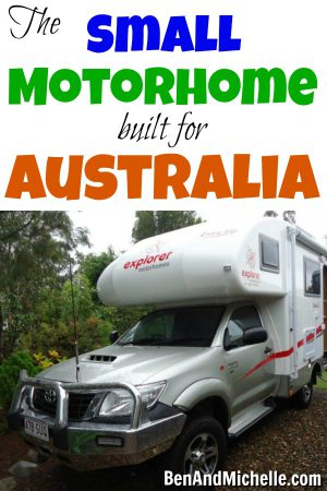 I've found this awesome RV / motorhome that is perfect for a luxurious, yet rugged road trip around Australia. If budget were no problem, one of these Explorer Motorhomes would be mine!