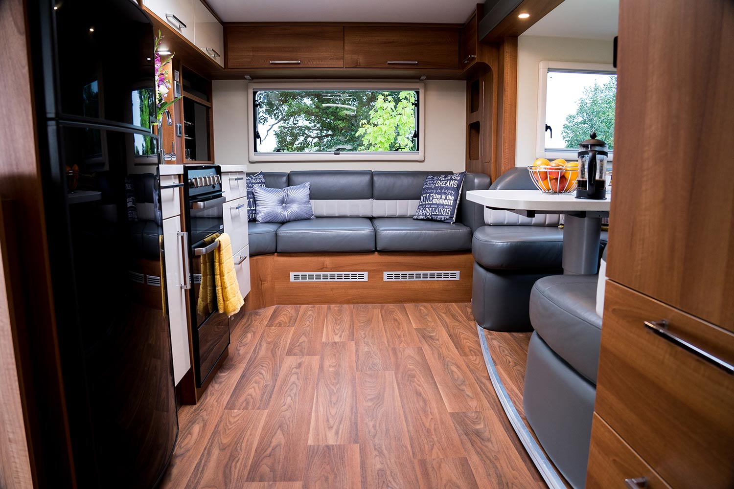 Fifth Wheel Co Dreamseeker interior rear