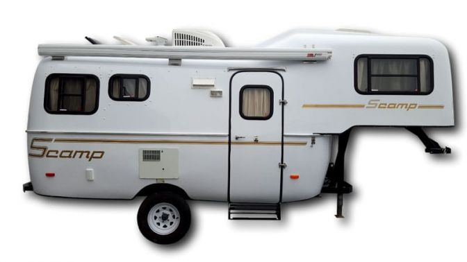 Scamp Fifth Wheel side profile