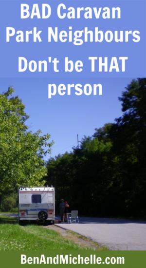 Click here to reqd our Caravan Park Etiquette guide on how to be a good caravan park neighbour. #caravanparketiquette
