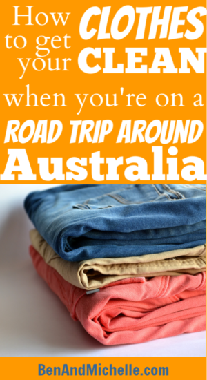 You may be on the trip of a lifetime, travelling around Australia and seeing so many wonderful things... but the laundry still needs to be done. In this post we look at some of the ways you can set up your caravan, motorhome or camper trailer to get your clothes clean. #smallwashingmachine