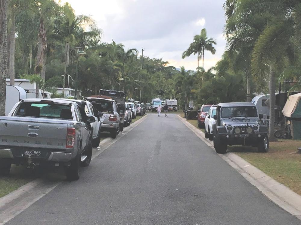 caravan park roadway