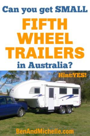 We're looking for the best small 5th wheel trailers and we've found some beautiful Australian made 5th wheelers for sale. There are very few 5th wheel camper manufacturers that make 5th wheel trailers under 5000 lbs, but we have managed to find some small and light fifth wheelers, even an 18 foot 5th wheel travel trailer. Check them out here. #fifthwheeltrailers