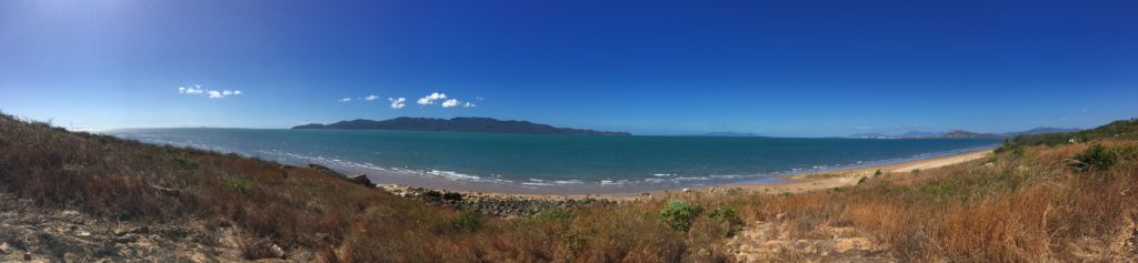 View of the sea from Townsville QLD