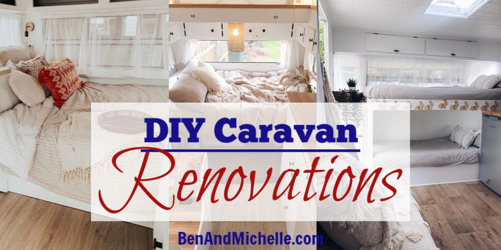 My favourite DIY caravan renovations, completed right here in Australia.
