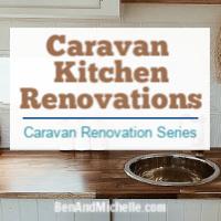 Caravan kitchen renovations
