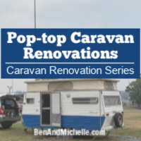 Pop top caravan renovations