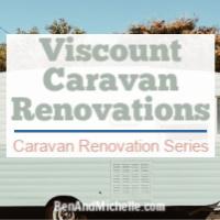 Vintage Viscount caravan renovations