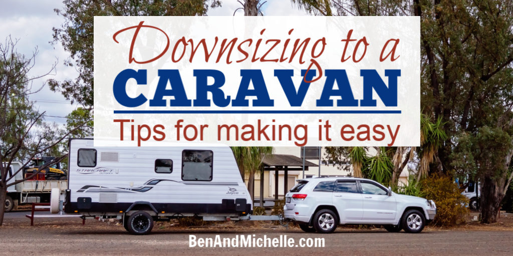 Downsizing to a caravan