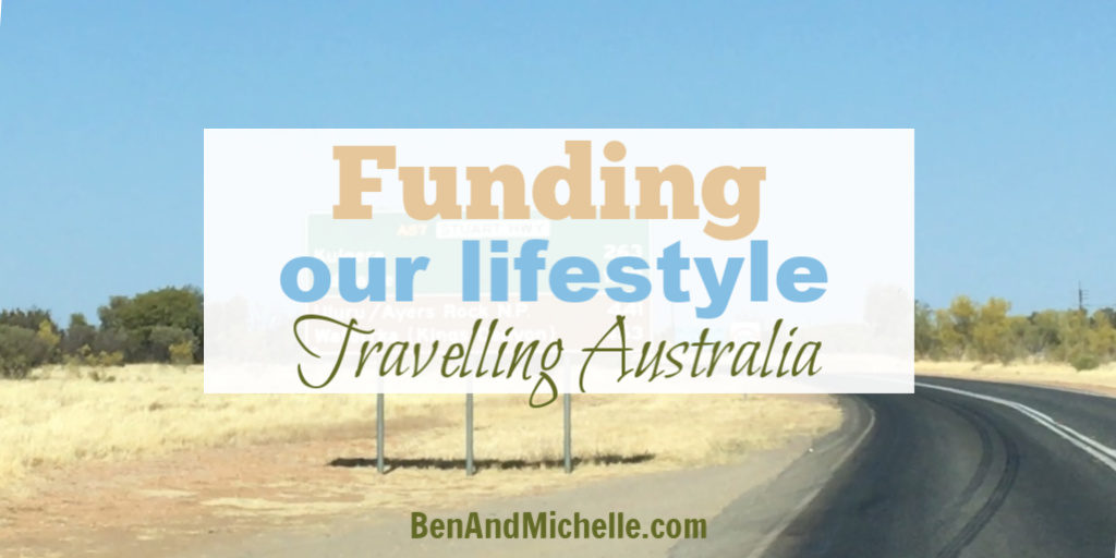 How we make money in Australia while travelling in our caravan