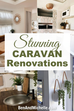 This collection of stunning Millard caravan renovations will have you scouring Gumtree for your own vintage caravan to makeover! #caravanrenovations