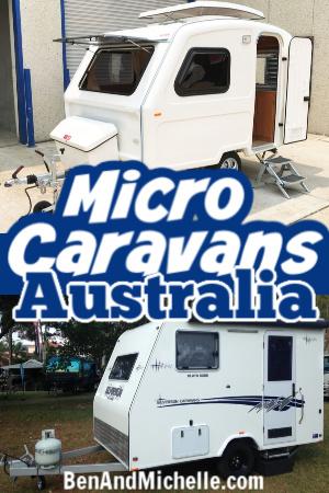 2 micro caravans Australia