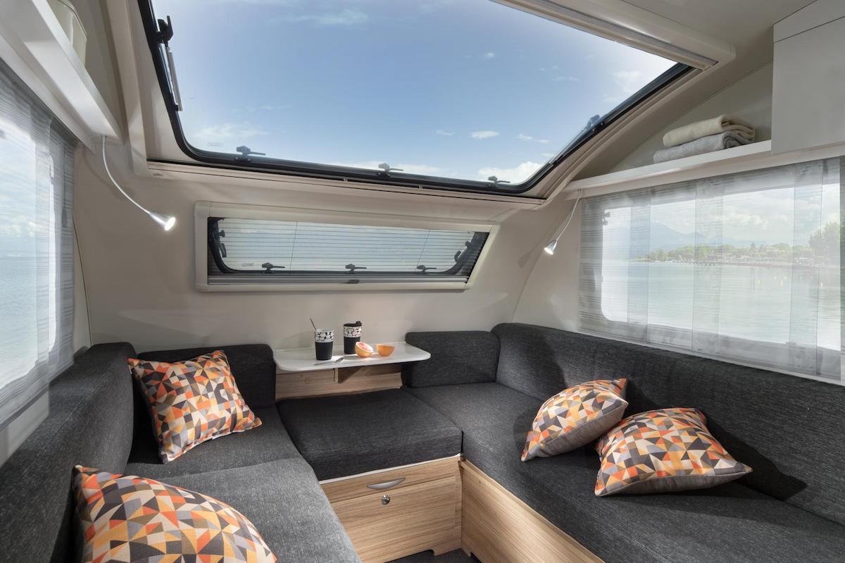 compact caravan interior photo