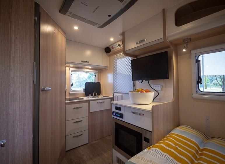 Ezytrail - Winton 10 tiny caravans Australia