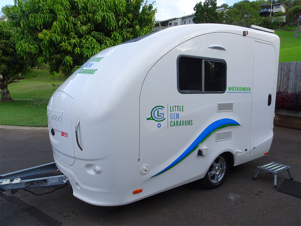 small caravan The Weekender by Little Gem Caravans