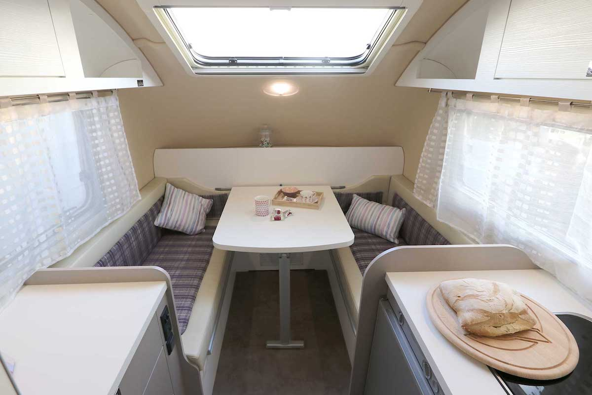 tiny caravan The Weekender by Little Gem Caravans