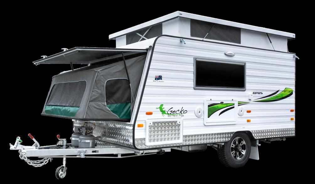 New Age Gecko micro caravans Australia