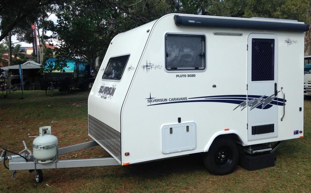small caravan exterior photo