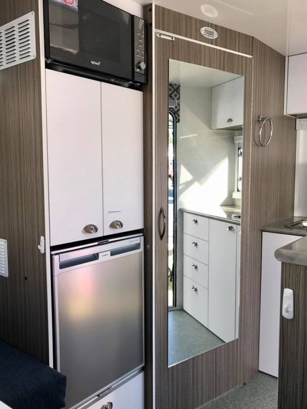 small caravan interior photo