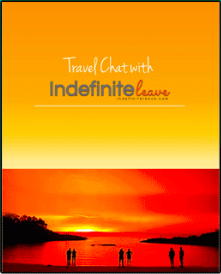 Book cover: Travel Chat with Indefinite Leave