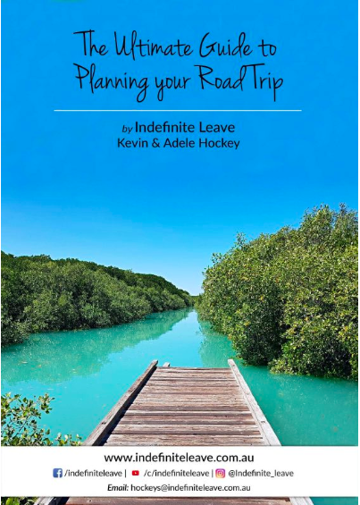 Book cover: The Ultimate Guide to Planning your Road Trip