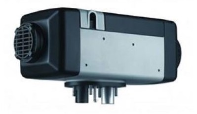 Promotional shot of the Webasto 12v Diesel Heater Twin Outlet