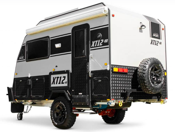 Promo photo of the MDC XT12HR off road camper.