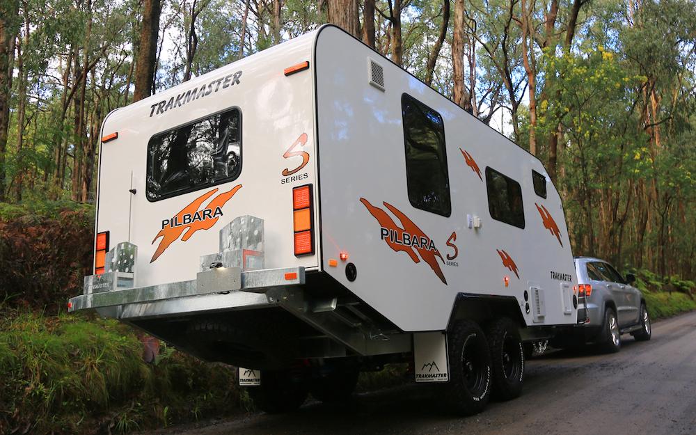 Trakmaster Pilbara S series off road caravan.